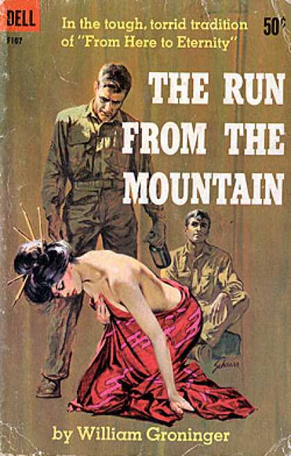 Dell Books - The Run From the Mountain