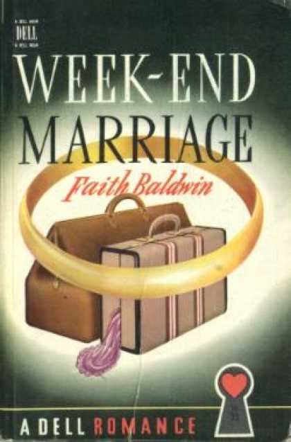 Dell Books - Week-end Marriage - Faith Baldwin