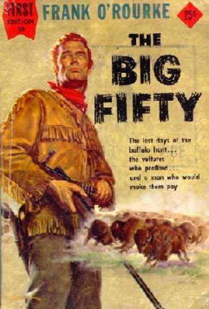 Dell Books - The Big Fifty - Frank O Rourke