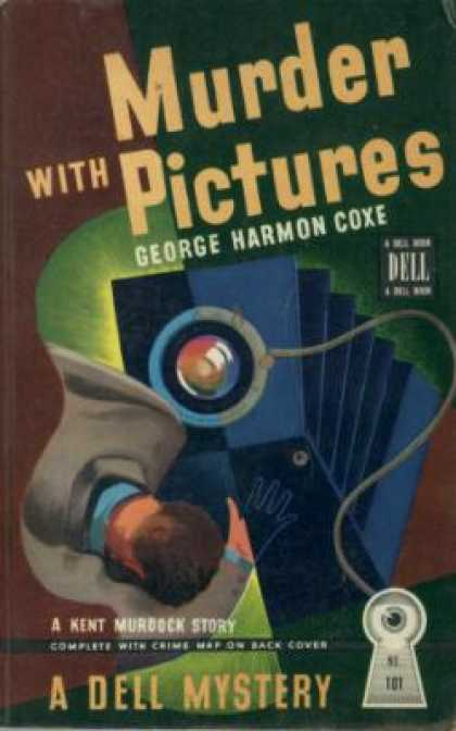 Dell Books - Murder With Pictures - George Harmon Coxe