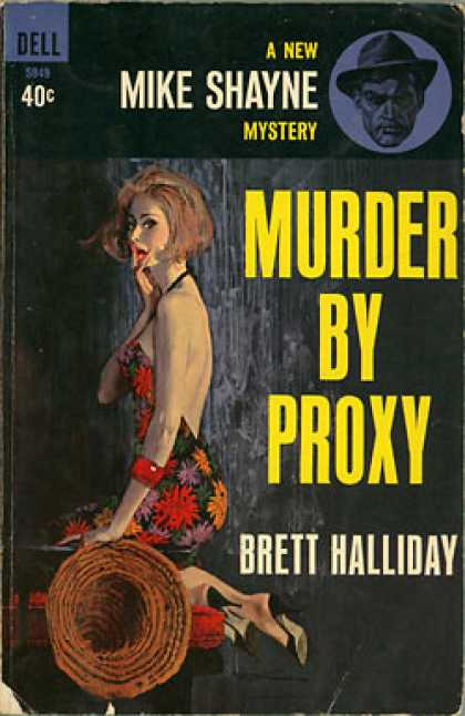 Dell Books - Murder By Proxy : A New Mike Shayne Mystery - Bret Halliday