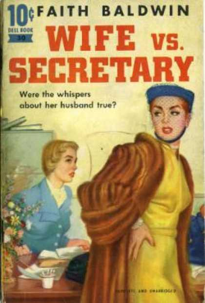 Dell Books - Wife Vs. Secretary - Faith Baldwin
