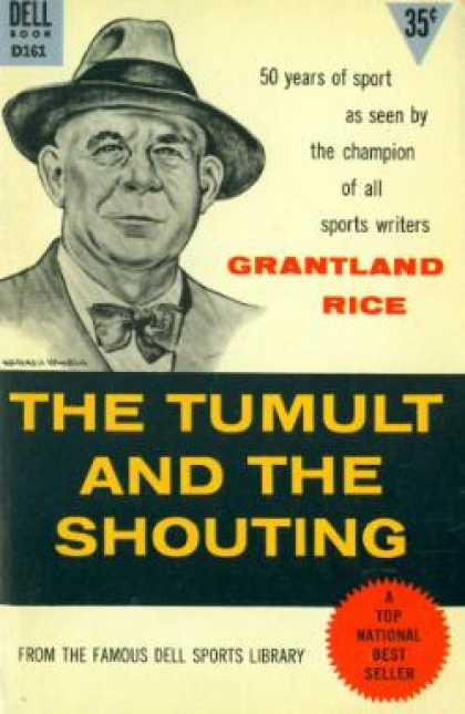 Dell Books - The tumult and the shouting - Grantland Rice