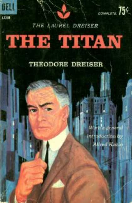 Dell Books - The Titan - Theodore Dreiser