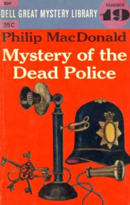 Dell Books - Mystery of the Dead Police #19 - Philip Mac Donald