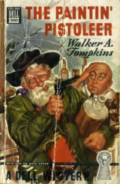 Dell Books - The Paintin Pistoleer - Walker A. Tompkins