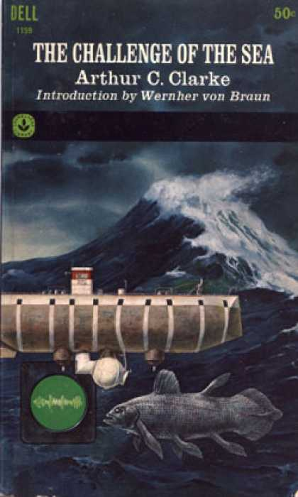 Dell Books - The challenge of the sea - Arthur C. Clarke