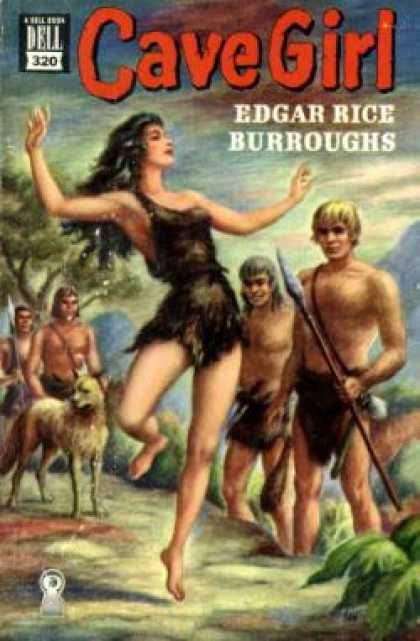 Dell Books - Cave Girl - Edgar Rice Burroughs