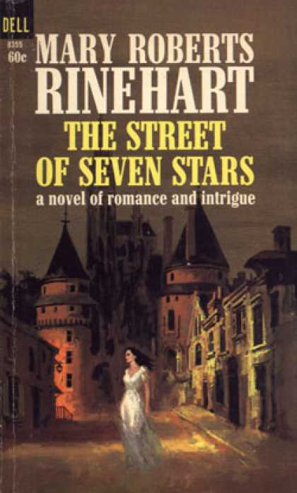 Dell Books - The Street of Seven Stars - Mary Roberts Rinehart
