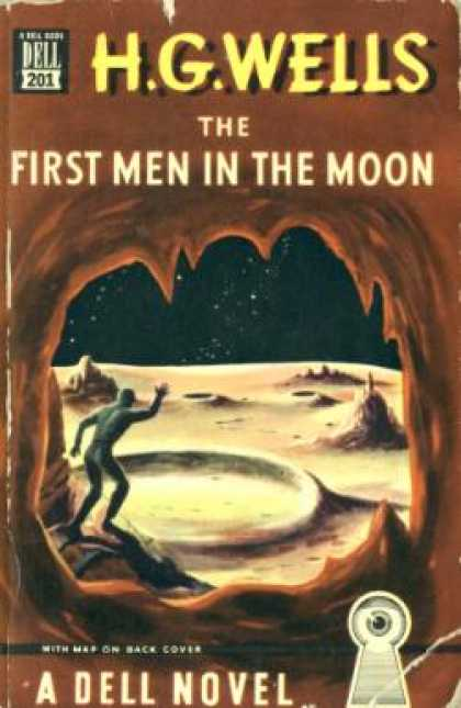 Dell Books - First Men In the Moon, the - H. G. Wells
