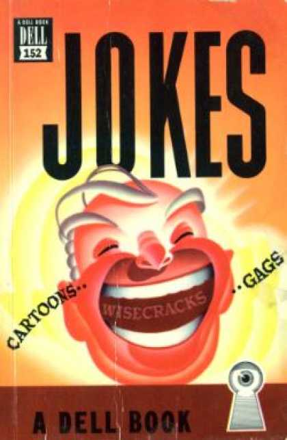 Dell Books - Jokes, Gags and Wisecracks - Ted Shane