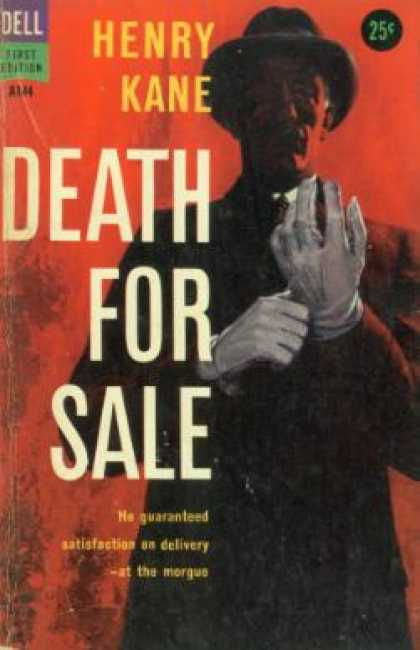 Dell Books - Death for Sale - Henry Kane