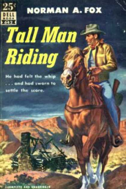 Dell Books - Tall Man Riding