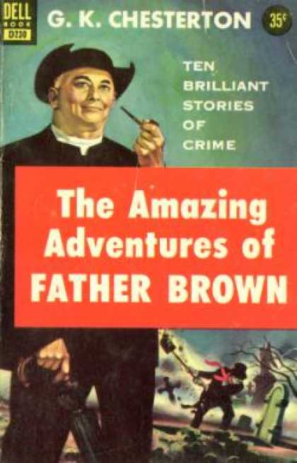 Dell Books - The Amazing Adventures of Father Brown - G. K Chesterton