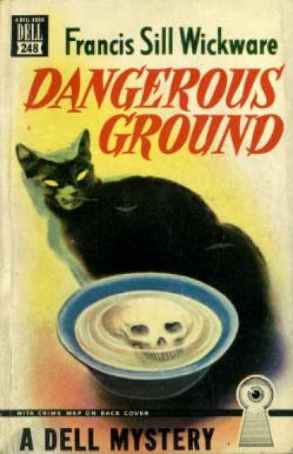 Dell Books - Dangerous Ground: Dell Crime Map Series 248 - Francis Sill Wickware