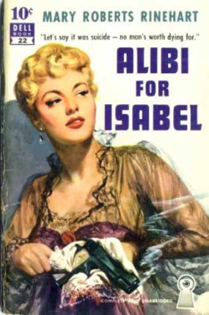 Dell Books - Alibi for Isabel - Rinehart
