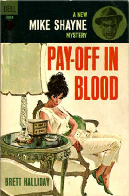 Dell Books - Pay-off In Blood - Brett Halliday