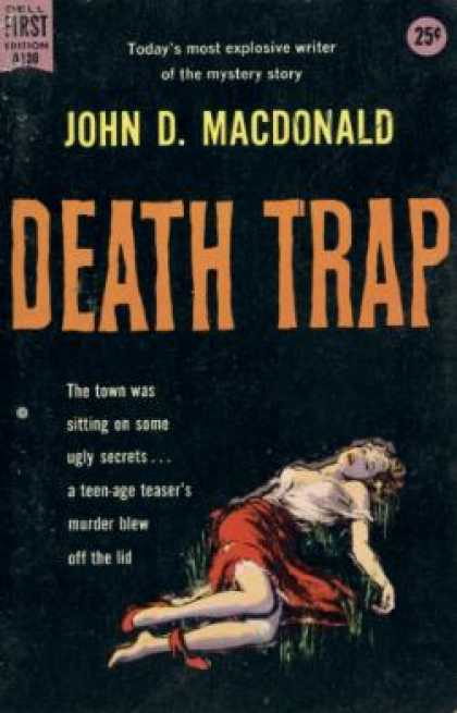 Dell Books - Death Trap - John D. MacDonald