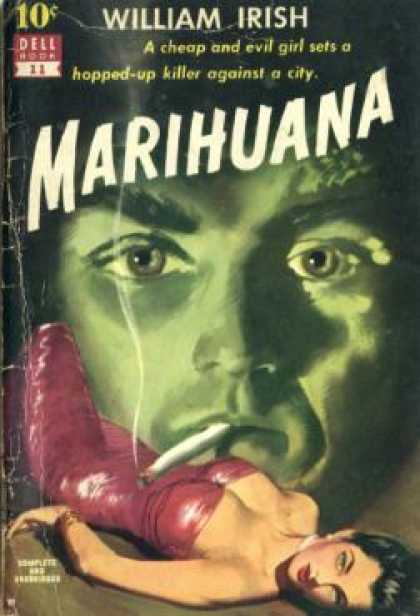 Dell Books - Marihuana - William Irish