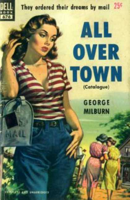 Dell Books - All Over Town - George Milburn
