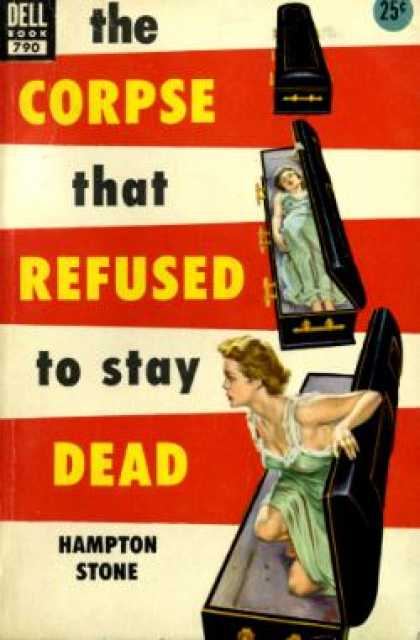 Dell Books - The corpse that refused to stay dead - Hampton Stone