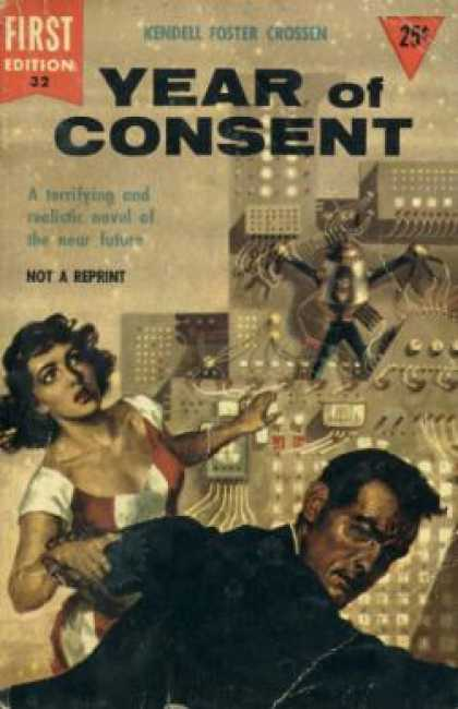 Dell Books - Year of Consent Crossen - Kendell Foster Crossen