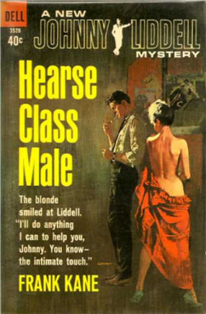 Dell Books - Hearse Class Male: Johnny Liddell Mystery - Frank Kane
