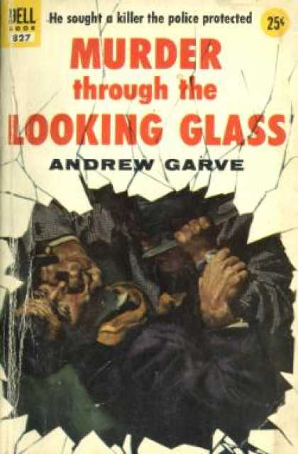 Dell Books - Murther Through the Looking Glass - Andrew Garve