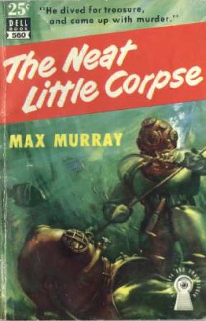 Dell Books - The Neat Little Corpse - Max Murray
