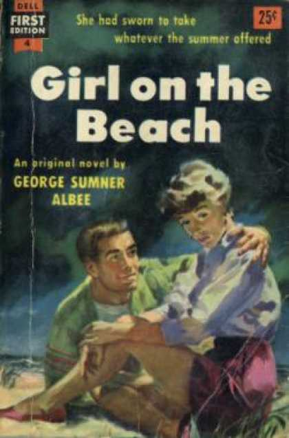 Dell Books - Girl On the Beach - George Sumner Albee