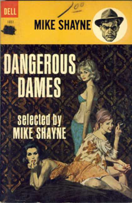 Dell Books - Dangerous Dames - Mike Shayne
