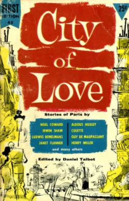 Dell Books - City of Love: Stories of Paris - Daniel Talbot
