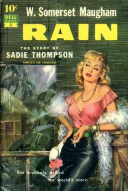 Dell Books - Rain: The Story of Sadie Thompson - W. Somerset Maugham
