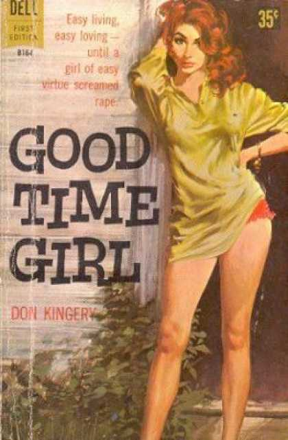 Dell Books - Good Time Girl - Don Kingery