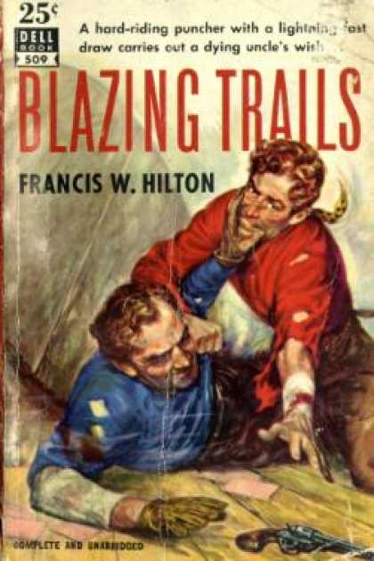 Dell Books - Blazing Trails - Francis W Hilton