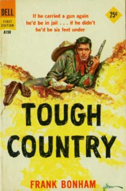 Dell Books - Tough Country - Frank Bonham