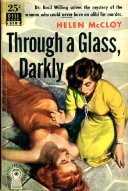 Dell Books - Through a Glass, Darkly - Helen Mccloy