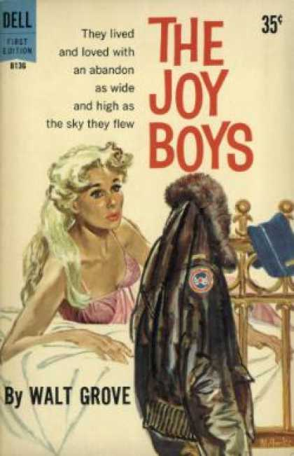 Dell Books - The Joy Boys - Walt Grove