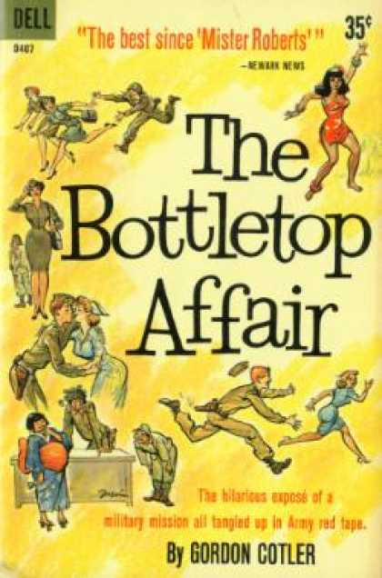 Dell Books - The Bottletop Affair - Gordan Colter
