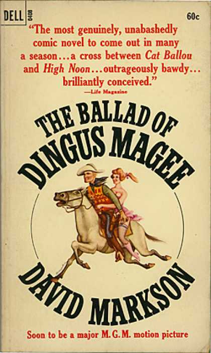 Dell Books - The Ballad of Dingus Magee - D Markson
