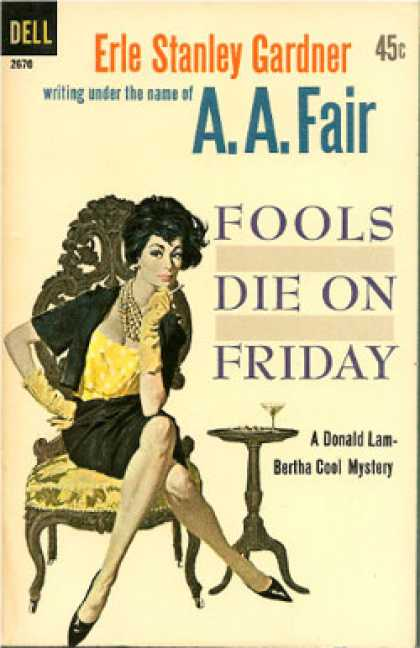 Dell Books - Fools Die On Friday