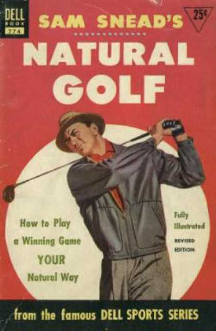 Dell Books - Sam Snead's Natural Golf - Tom Shehan