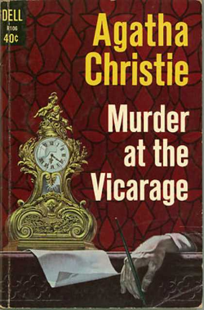 Dell Books - Murder at the Vicarage - Agatha Christie