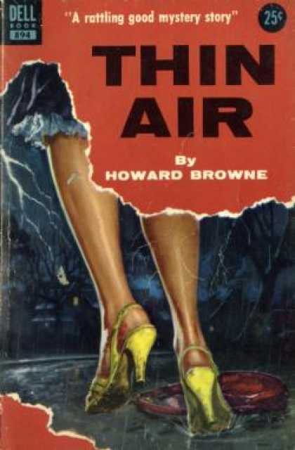 Dell Books - Thin Air - Howard Browne