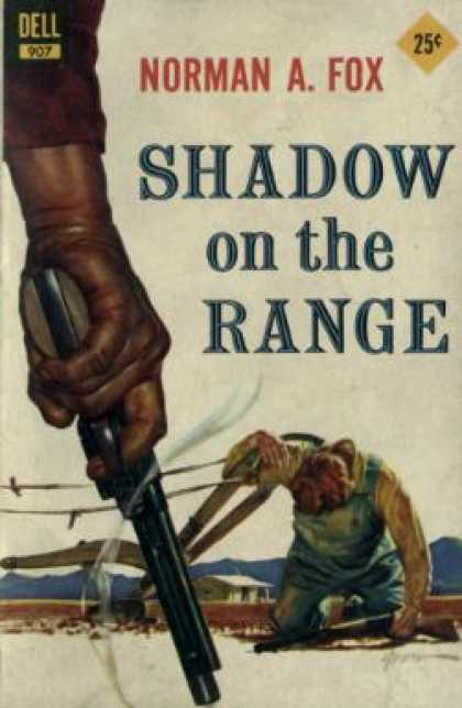 Dell Books - Shadow On the Range - Norman A. Fox