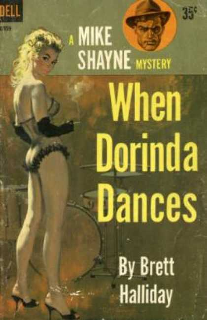 Dell Books - When Dorinda Dances - Brett Halliday