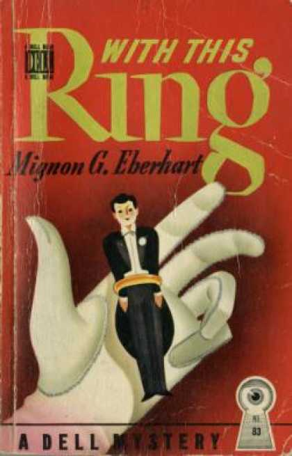 Dell Books - With This Ring: A Stuart Westover Murder Mystery - Mignon Good Eberhart