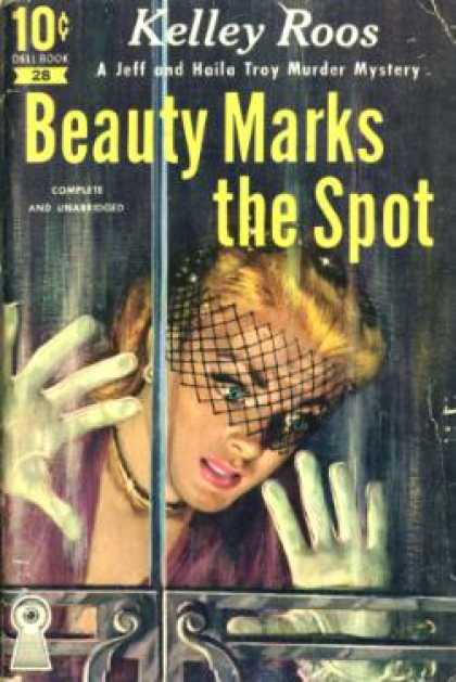 Dell Books - Beauty Marks the Spot - Kelley Roos