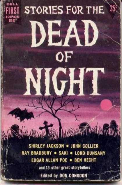 Dell Books - Stories for the Dead of Night - Don Congdon