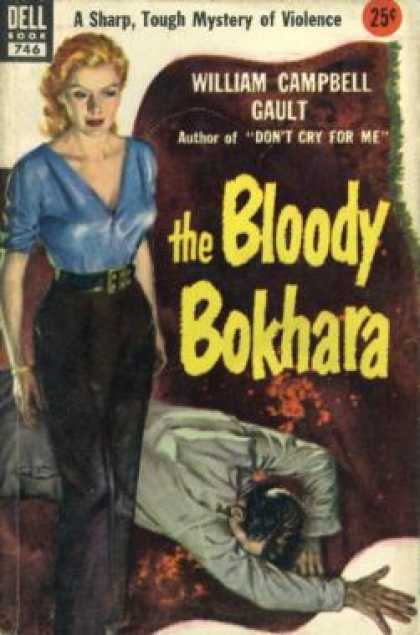 Dell Books - The Bloody Bokhara - William Campbell Gault
